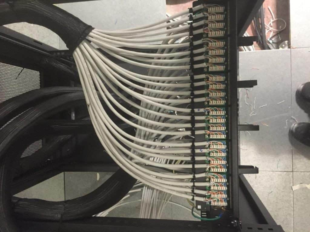 data cabling project