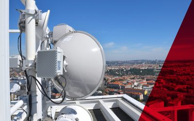 Point to point microwave link installation by ICT Solutions