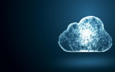 image of a light filled virtual cloud