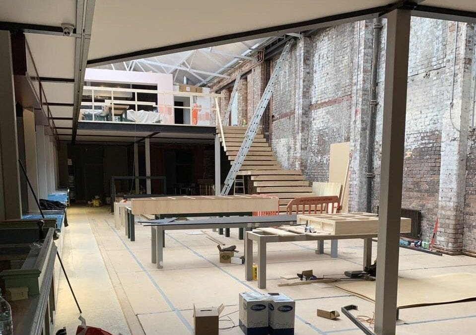building and ict work on the new duke street market in liverpool