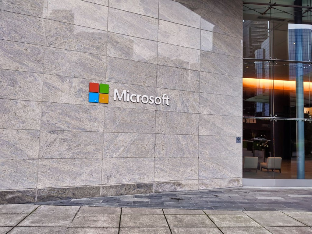 image of microsoft building