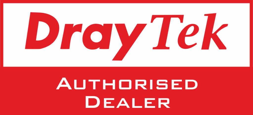 Dray Tek authorised dealer logo